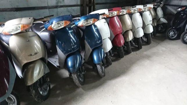 Японськi  скутери Honda DIO, Yamaha, Suzuki, без пробiгу по Украïнi