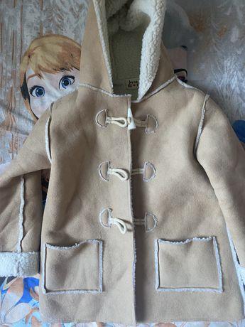 Дублёнка куртка  zara hm