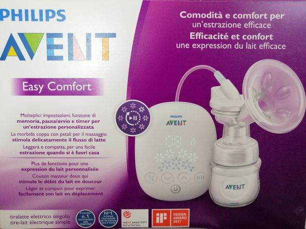 Elektryczny laktator Avent/Philips Easy Comfort