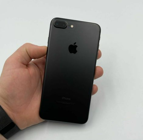 iPhone 7 Plus 128Gb., Black Matte | 81%батарея +90дней ГАРАНТИЯ