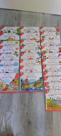 Abc uczę się kolekcja 65 książek Strzałkowska stan bdb