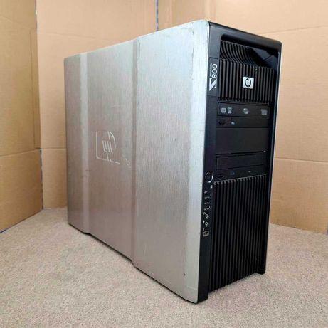 Компьютер, сервер, HP z800, 12 ядер, RAM 44Gb, SSD 120Gb, GTX 1060 6Gb