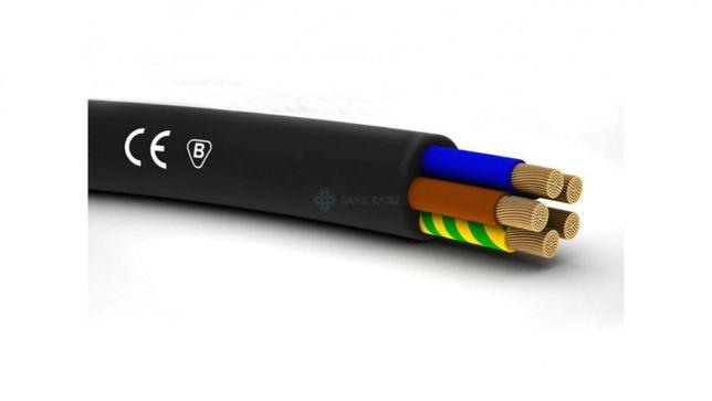 Kabel YLY 5x6mm2 ELTRIM 4,5mb 0,6/1kV