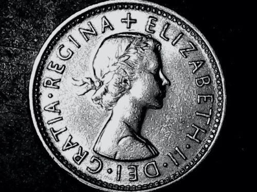 1961 Great Britain One Shilling