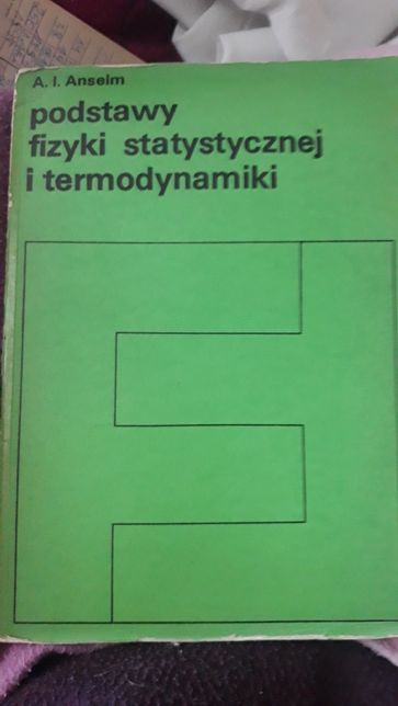 Podstawy fizyki statystycznej i termodynamiki
