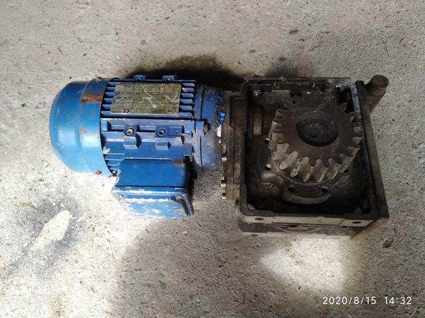 Reduktor z motorem elektrycznym