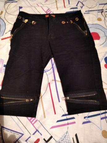Жіночі джинсові бриджі