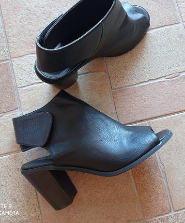 Sandały skóra 39