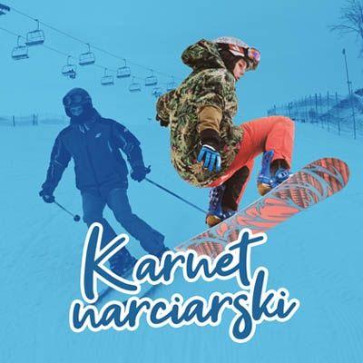 Karnet narciarski Szwajcaria Bałtowska 3 dni bilet normalny i ulgowy