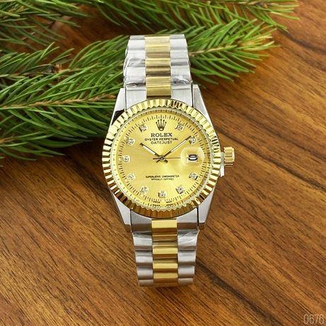 Стильные Rolex DateJust (12 расцветок). Наручные мужские-женские часы!