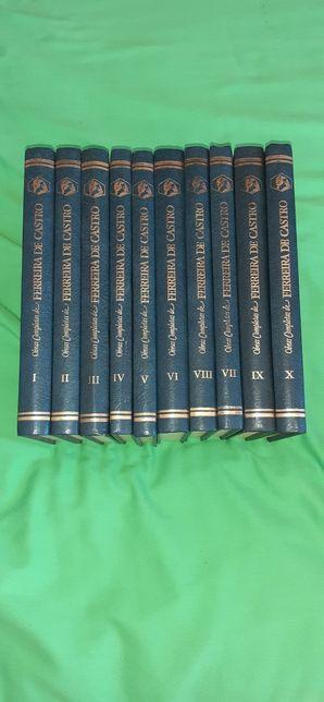 Livros Obras Completas de Ferreira de Castro