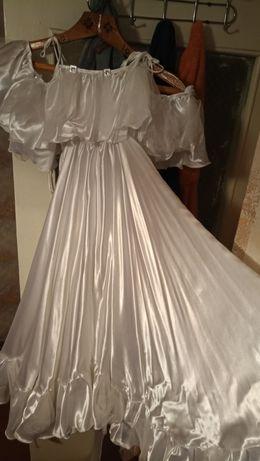 Бальное платье .