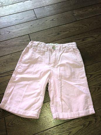 Różowe spodnie GAPKIDS 10-11 lat chinosy spodenki krótkie