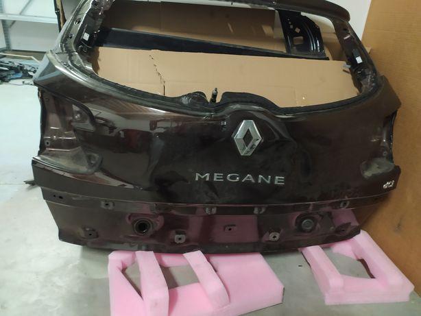 Ляда, кришка багажника, Рено Меган 3, Mégane 3, під ремонт