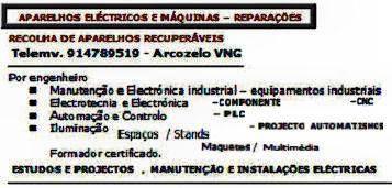 Máquina eléctrica da relva - reparações eléctricas.