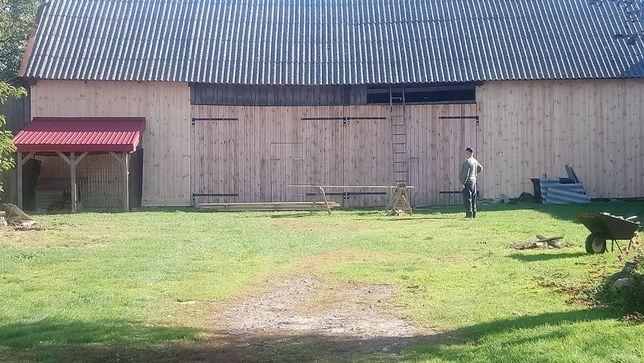 Skup,Stodola,rozbiorki stodol, wiata itp,skup starych desek
