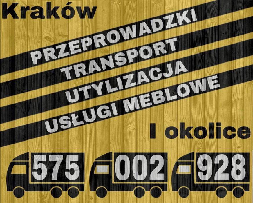 Transport Przeprowadzki Utylizacja oraz Montaż/Składanie mebli Kraków - image 1