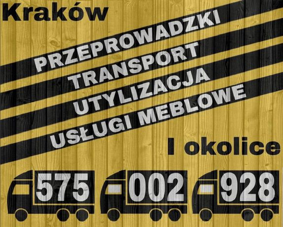 Transport Przeprowadzki Utylizacja oraz Montaż/Składanie mebli