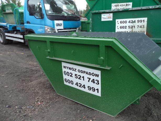 kontenery na gruz odpady Wrocław