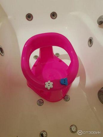 Детское сиденье для купания на присосках