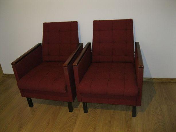 Fotele fotel PRL