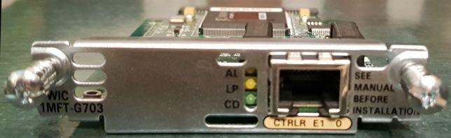 Moduł Cisco VWIC 1MFT-G703