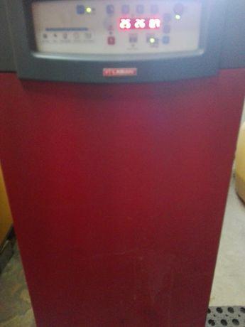 Caldeira de aquecimento lasian seminova a gasóleo (depósito 1000l)