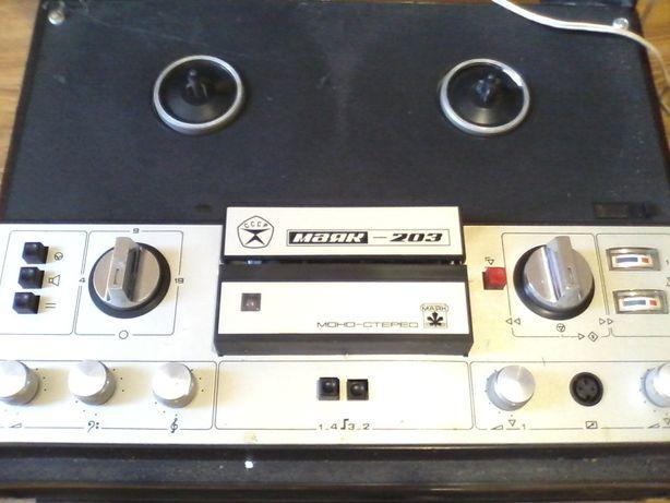 Магнитофон Маяк. Робочий раритет