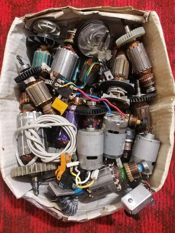 Якоря, електомоторчики від електроінструмента