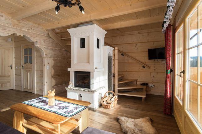 Drewniany domek z bala na wynajem Tatry Zakopane Poronin Murzasichle