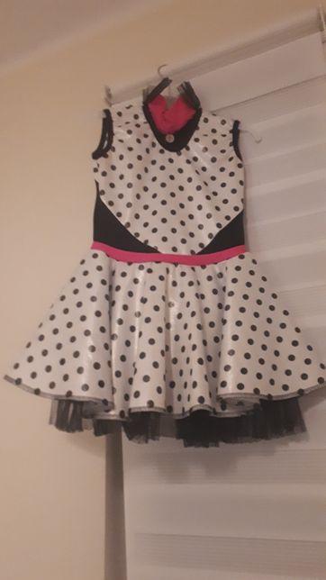 Sukienka dla tancerki lub na karnawał