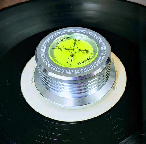 Прижим для виниловых пластинок, клэмп. Clamp vinyl. Viborg.