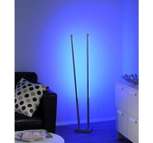 Nowoczesna minimalistyczna lampa stojąca RGB LED Q-GLIDO 555-55