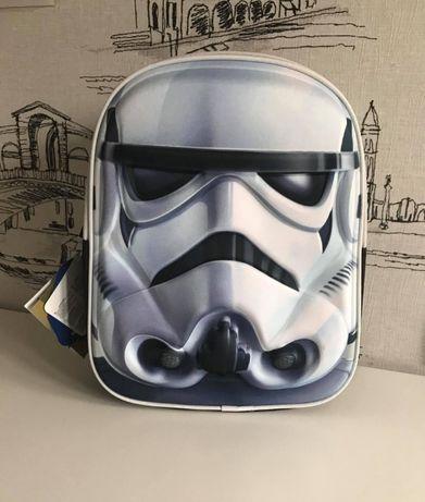 Дошкольный рюкзак для мальчика 3Д Звездные войны Штурмовик