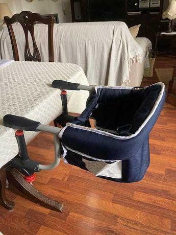 Cadeira de mesa para criança portátil pré-natal