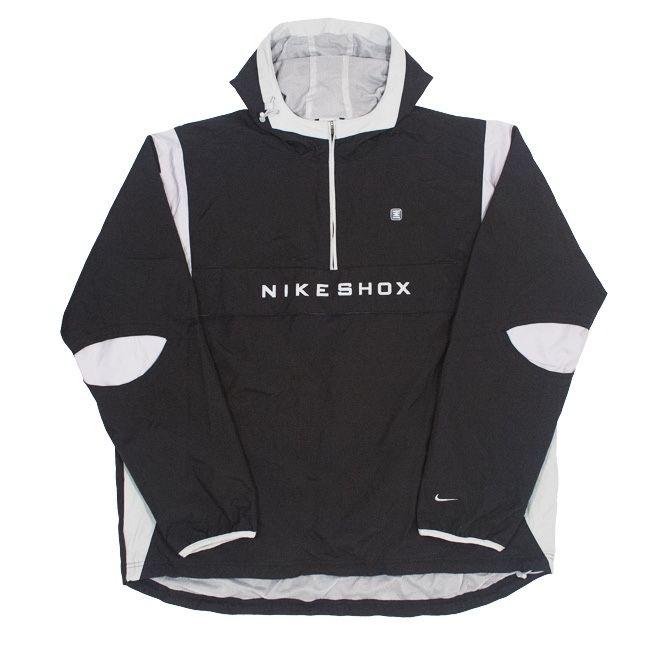 NIKE SHOX ANORAK WINDBREAKER (белый); анорак/ветровка/ дождевик Боярка - изображение 1
