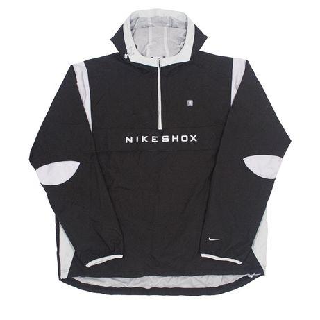 NIKE SHOX ANORAK WINDBREAKER (белый); анорак/ветровка/ дождевик