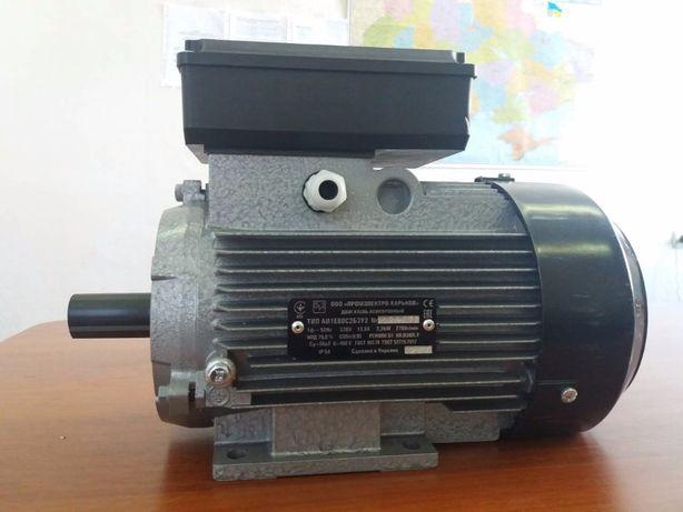 Электродвигатель, електродвигун, електромотор, 220В, 2.2 3,0 кВт АКЦИЯ