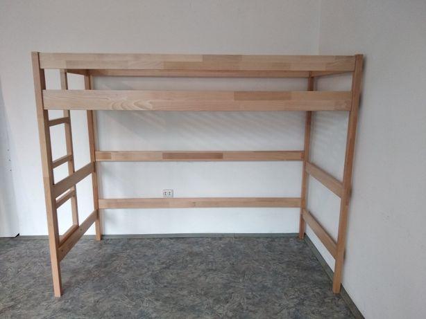 Деревяная кровать ліжко Горище 90х200 (чердак)