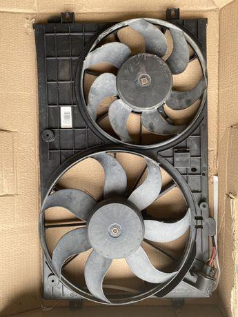 Винтилятор радіатора на фолцваген пасат B7