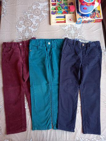 Штани 100% cotton, джинси, брюки 110см