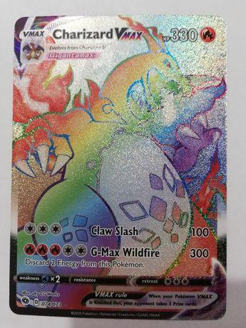 Charizard Vmax Rainbow 074/073 MINT