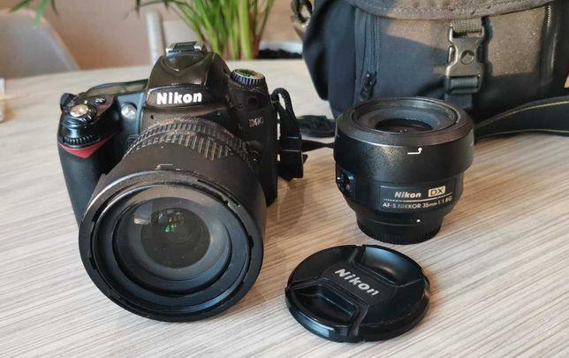 Фотоаппарат Nikon D90 18-105VR Kit + AF-S DX Nikkor 35mm f/1,8G