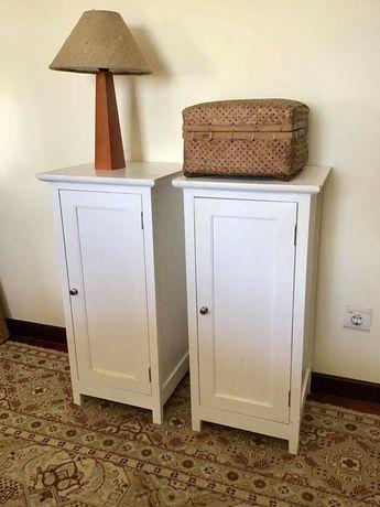 2 mesas, apoio, consola, cabeceira, vintage, retro, casquinha, rustico