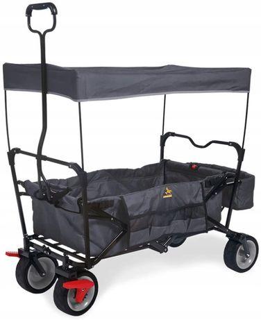 Pinolino wózek transportowy z daszkiem składany 70
