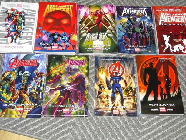 Avengers, Nieskonczoność, X-men Wolverine Thunderbolts Guardians Thor