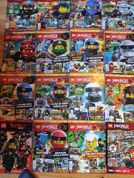 Gazety Lego Ninjago