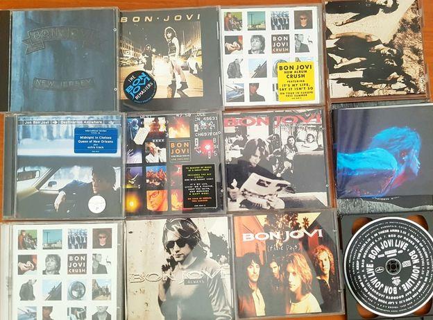 conjunto 12 cds Bon Jovi Jon Bon Jovi
