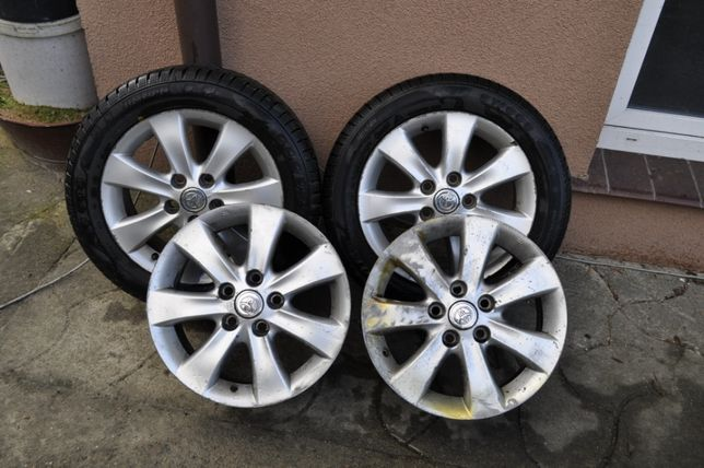 Alufelgi 16'' Toyota Corolla Verso 5 x 114,3 ET45 Plus 2 x opony zimow