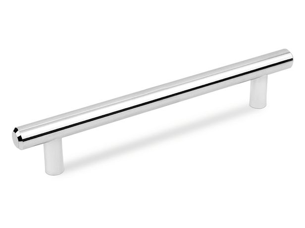 Ручка мебельная рейлинг DR10 аналог метал